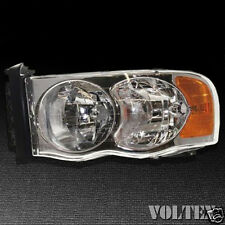 2003-2004 Dodge Ram 1500 Ram 2500 Headlight Lamp Clear lens Truck Halogen Left