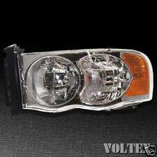 2003-2004 Dodge Ram 1500 Ram 2500 Headlight Lamp Clear lens Truck Halogen Left