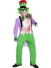 COSTUME CAPPELLAIO MATTO HORROR Uomo TG.L Carnevale Halloween Alice 32894L