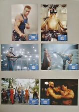 (Z380) Fotosatz STREET FIGHTER 1994 Jean-Claude Van Damme, Raul Julia, Ming-Na W