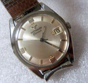 Vintage Wittnauer Geneve Wristwatch Super