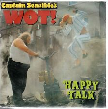 disco 45 GIRI CAPTAIN SENSIBLE'S WOT! - HAPPY TALK