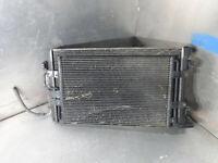 Audi TT 8N 1998-2006 MK1 225 Quattro 1.8T radiator + AC aircon condensor
