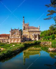 King's Castle Palace Bussaco Portugal AcrylicFaceMount Wall Decor Panorama Art