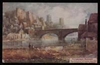 EARLY 1900's VINTAGE  TUCK'S POSTCARD PICTURESQUE DURHAM CATHEDRAL & CASTLE -