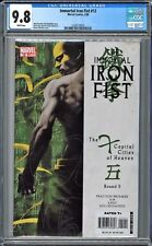 Immortal Iron Fist (2006 Marvel) #12 CGC 9.8 WHITE Pages