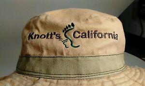 Knott's California Khaki Boonie Hat Fish Camp Sun Hunt Unisex Hat 58cm