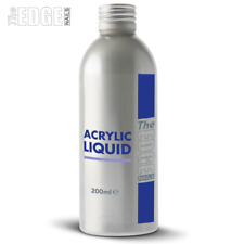 The Edge Nails 200ml Acrylic Liquid Monomer -Free Form Sculpting Overlays & Tips