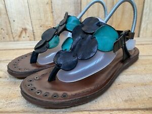 A.S.98 Airstep Grudge Leather Sandals Sz EUR 38   US 7.5-8   UK 5
