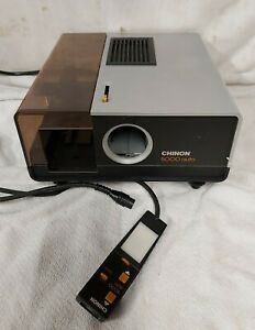 Vintage Chinon 5000 auto 35mm Colour Slide Projector With Remote