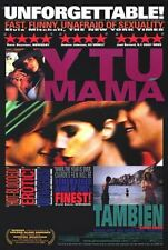 Y Tu Mama Tambien Unrated Version Original Video Release Poster 27 x 40 New 2001
