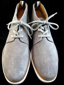 "Allen Edmonds ""WILDER"" Men's Casual Suede Chukka Boots 9 D Pewter Grey  (623)"