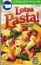 Pillsbury Classics Cookbook Lotsa Pasta #217 1999 93 Pages