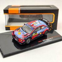 IXO Hyundai i20 Coupe WRC #19 S.Loeb -D. Elena Rallye Catalunya 2019 RAM733 1/43