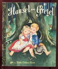 HELOÏSE WILKIN: HANSEL ET GRETEL.LITTLE GOLDEN BOOK. 1978.