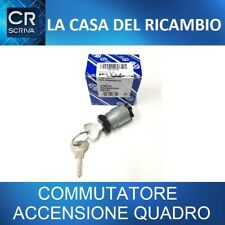 COMMUTATORE ACCENSIONE QUADRO ORIGINALE FIAT 500 D / F / L CON CHIAVI AUTO EPOCA