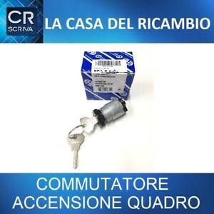 COMMUTATORE ACCENSIONE QUADRO ORIGINALE FIAT 500 D / F / L CON CHIAVI AUTO EPOCA