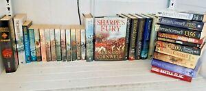 Collection Bernard Cornwell Historical Fiction Sharpe Books KY402