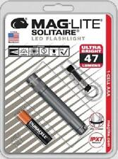 Maglite Solitaire LED 1 -Cell AAA Flashlight Keychain SJ3A096 GRAY GIFT USA