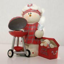 Sarah's Attic, Inc. Snowonders - Osu26 Ohio State Tailgater Figurine (Snowman)