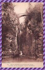 Tarjeta postal - Los Láminas en MONTAÑAS - el Puente sur la stumble