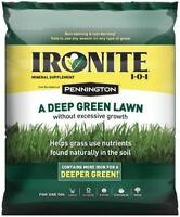 Ironite 100524179 Mineral Supplement Lawn Fertilizer, 30 Lbs