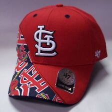 super popular 98153 7c5e8  47 St. Louis Cardinals Red Wedge MVP Adjustable Hat.