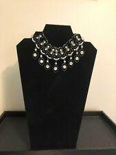 Latasia Very Sexy Silver Tone Rhinestone Collar Choker Necklace