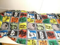 Vintage STAR WARS Lucas Comforter / Twin Bed Spread