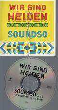 PROMO CD--WIR SIND HELDEN--SOUNDSO--1TR