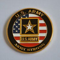 US Medal/Badge/Order, US ARMY, ARMY STRONG, Challenge Coin, Scarce!!!