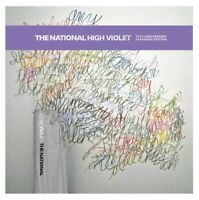 THE NATIONAL - HIGH VIOLET EXPANDED EDT. (MARBLED WHITE+PURPLE) 3 VINYL LP NEU