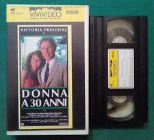 VHS FILM Ita Sentimentale DONNA A 30 ANNI victoria principal ex nolo no dvd(VH71