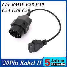Spina ADATTATORE DIAGNOSI OBD 2 su OBD 1 20-pin cavo si adatta per BMW #7280