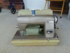 "Vintage Kenmore Sewing Machine In Case 753101357 ""Nice Working"""
