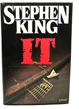 Stephen King, IT, HB/DJ, RARE 1st Edition/1st Printing VERY GOOD CONDITION