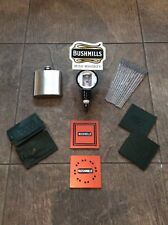 Bushmills Optic , Hip Flask , Coasters , Mixers , Luggage Tags