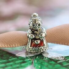 Authentic Pandora MRS CHRISTMAS SANTA CLAUS SILVER Charm Bead 792005EN07 Sale