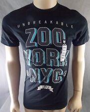 Mens Sz M Zoo York T-shirt Nwts Charcoal Black Unbreakable  s1-pb1
