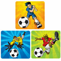6 Football Jigsaw Puzzles - Pinata Toy Loot/Party Bag Fillers Wedding/Kids