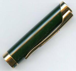 Waterman L'Etalon Rollerball Pen Cap in Green Lacquer GT, New Old Stock!