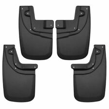 Husky Liners 56936 Front and Rear Mud Flaps Black For 2005-2015 Toyota Tacoma