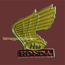 Honda HM Motorcycle Pin Badge
