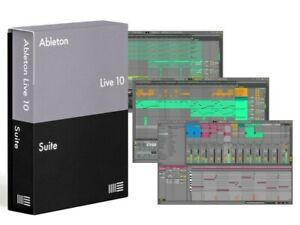 ☆ABLETON 10LIVE SUITE☆▪️ IN ITALIANO COMPLETO DI MANUALE ▪️WINDOWS