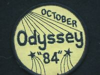 ODYSSEY OCTOBER 84 EMBROIDERED SEW ON PATCH