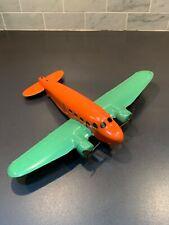 Vintage 1940s Metal Toy Prop Plane