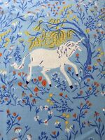 RPWi14 Far Far Away Heather Ross Unicorn Fairytale Medieval Cotton Quilt Fabric