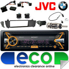 BMW X3 E83 2003-2010 SONY CD MP3 USB Bluetooth Car Radio Steering Interface Kit