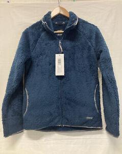BNWT EDZ Yeti Jacket Ladies Blue Furry Soft Plush Feel Winter Fleece Sz 10 (.02)