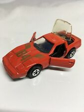 Road Champs '84 Corvette 1984 Red Made in Hong Kong